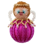 Gloria the Angel Bauble Ornament