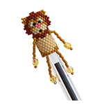 Lion Pen Topper Pattern