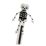 Skeleton Pen Topper Pattern