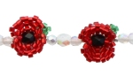 Quick Poppy Bracelet Pattern