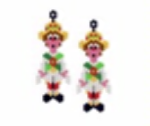 Morris Dancer Earring Pattern Only