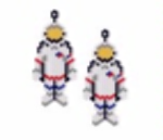 Astronaut Earring Pattern Only