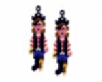 Pirate Earring Pattern Only