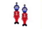 Motor Racing Driver Earring