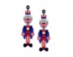 Uncle Sam Earring Pattern Only