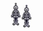 Skeleton Earring Pattern Only