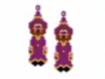 Wizard Earring Pattern Only