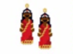 Bollywood Lady Earring Pattern Only
