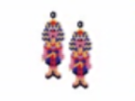 Tutankhamen Earring Pattern Only