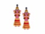Belly Dancer Earring Pattern Only