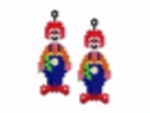Clown Earring Pattern Only