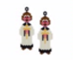 Vicar Earrings Pattern Only