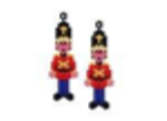 Toy Soldier Earrings Pattern Only